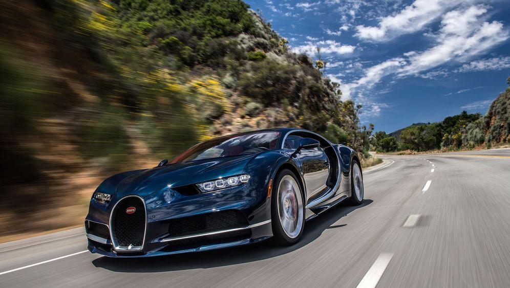 Autogramm Bugatti Chiron: Keine weiteren Fragen