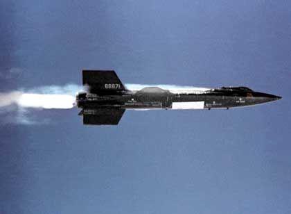 """Überschall-Flugzeug """"X-15"""": Weiterentwicklung von Sängers Ideen"""