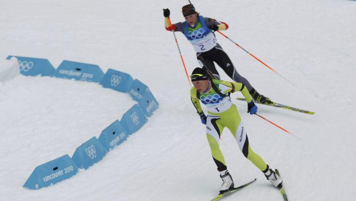 Biathlon: Der Goldlauf von Magdalena Neuner