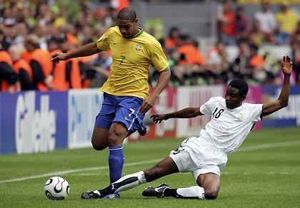 Brasilien gegen Ghana (WM-Achtelfinale 2006): Verdacht der Manipulation