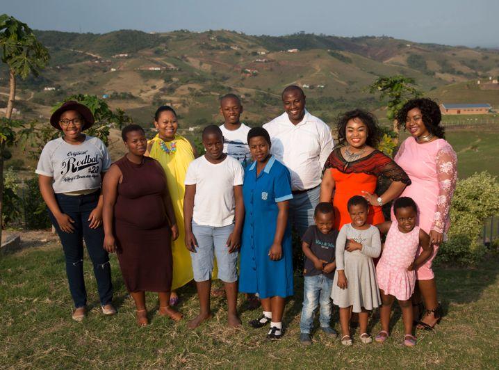 Musa Mseleku hat vier Ehefrauen, gern würde er sich eine fünfte nehmen