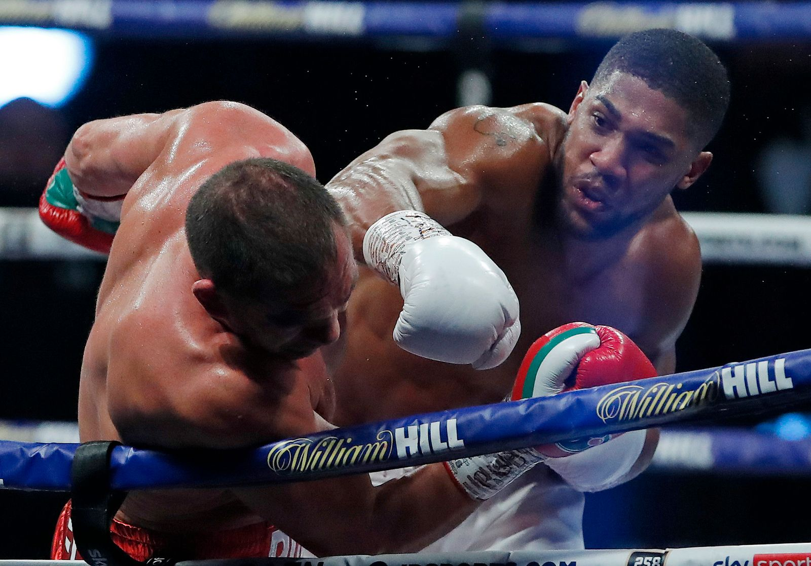 Britain Boxing Joshua Pulev