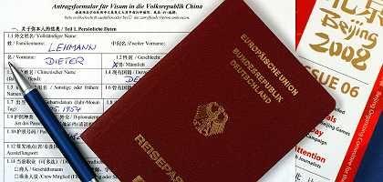Deutscher Reisepass und Visum für China: Ständige wechselnde Einreisebestimmungen verärgern die Geschäftsleute