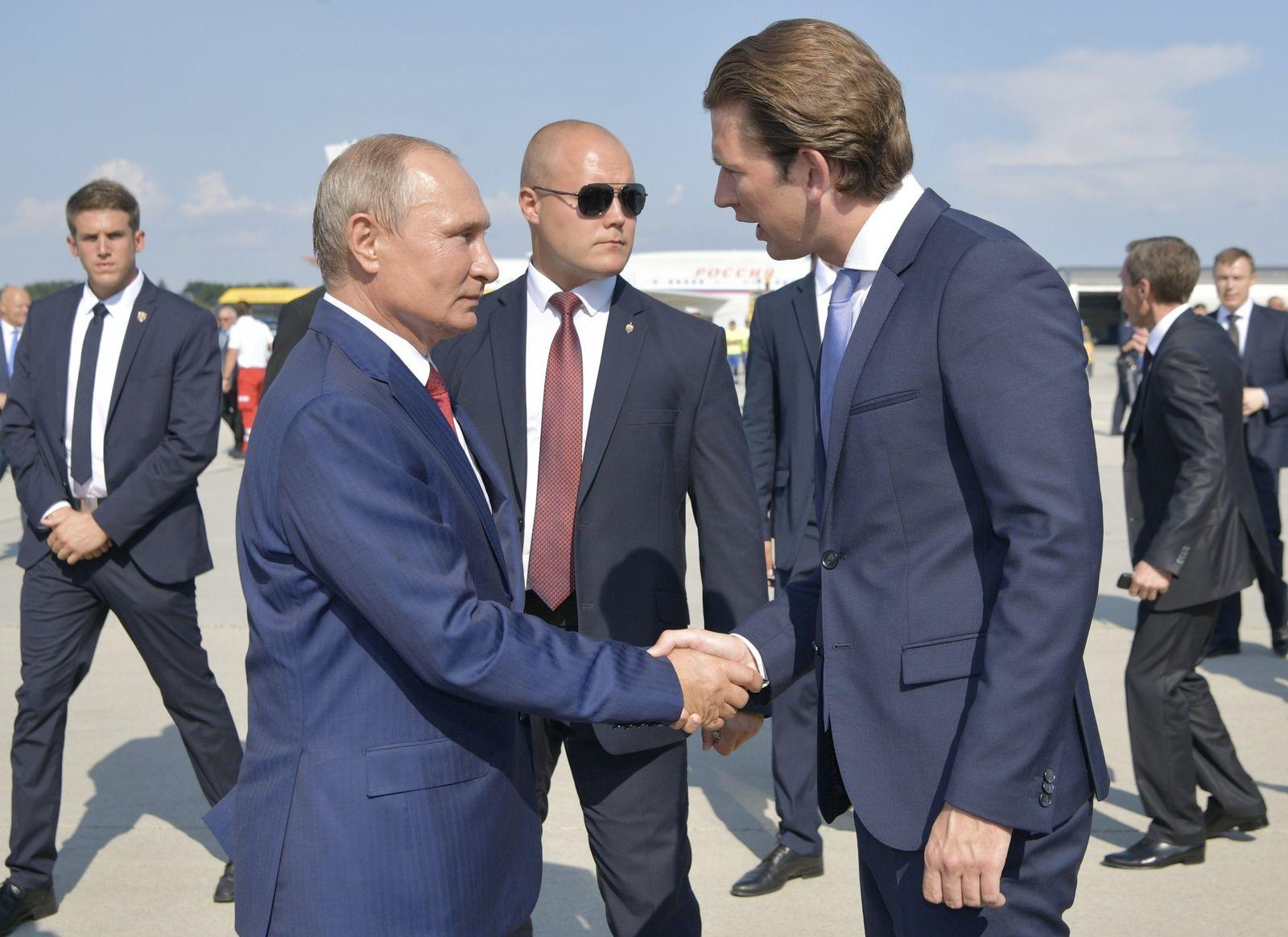 Kurz trifft Putin