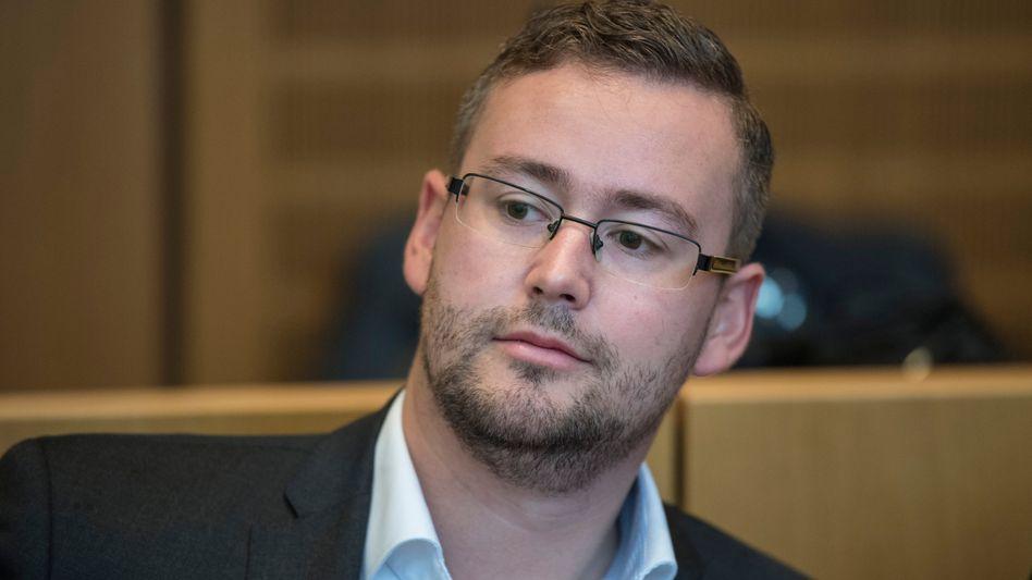 AfD-Abgeordneter Sebastian Münzenmaier