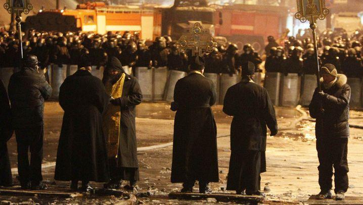 Krise in der Ukraine: Nachts auf dem Maidan