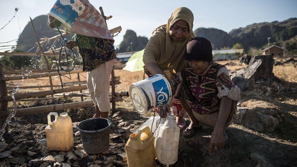 Dürre in Indonesien: Noch immer 663 Millionen Menschen ohne menschenwürdigen Zugang zu Wasser