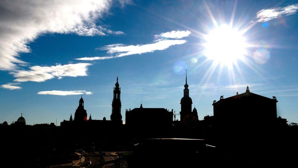 Silhouette von Dresden: CDU-Kandidat Ulbig wirkt getrieben