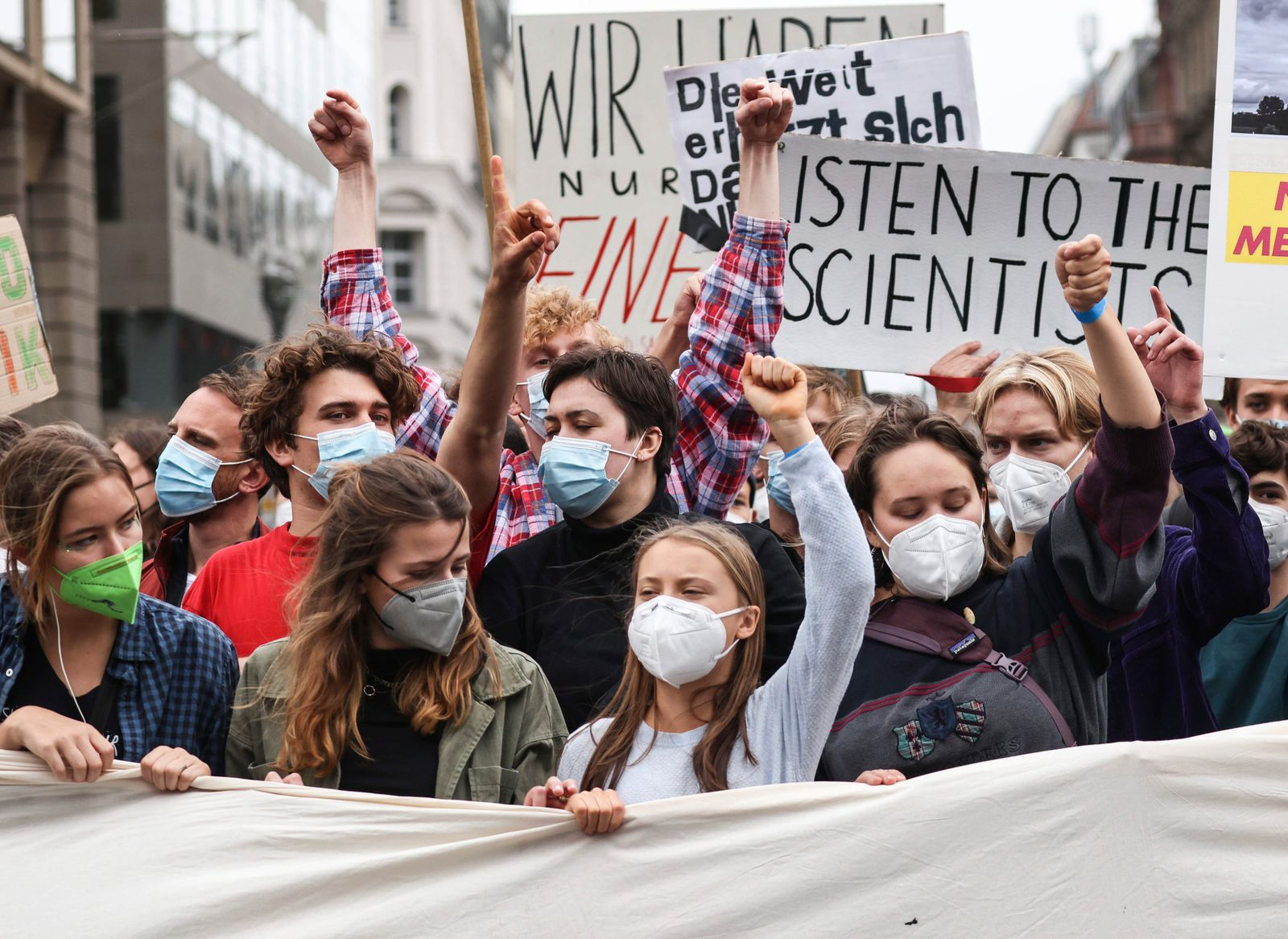 Fridays For Future global climate action day in Berlin
