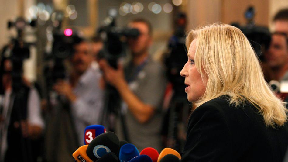 The government of Slovak Prime Minister Iveta Radicova has fallen apart.