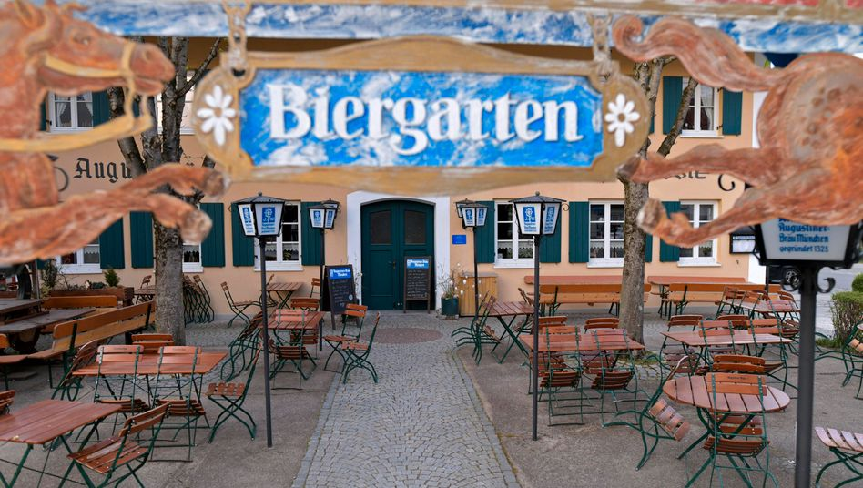 Geschlossener Biergarten in Bad Wörishofen: Keine Gäste, kein Umsatz