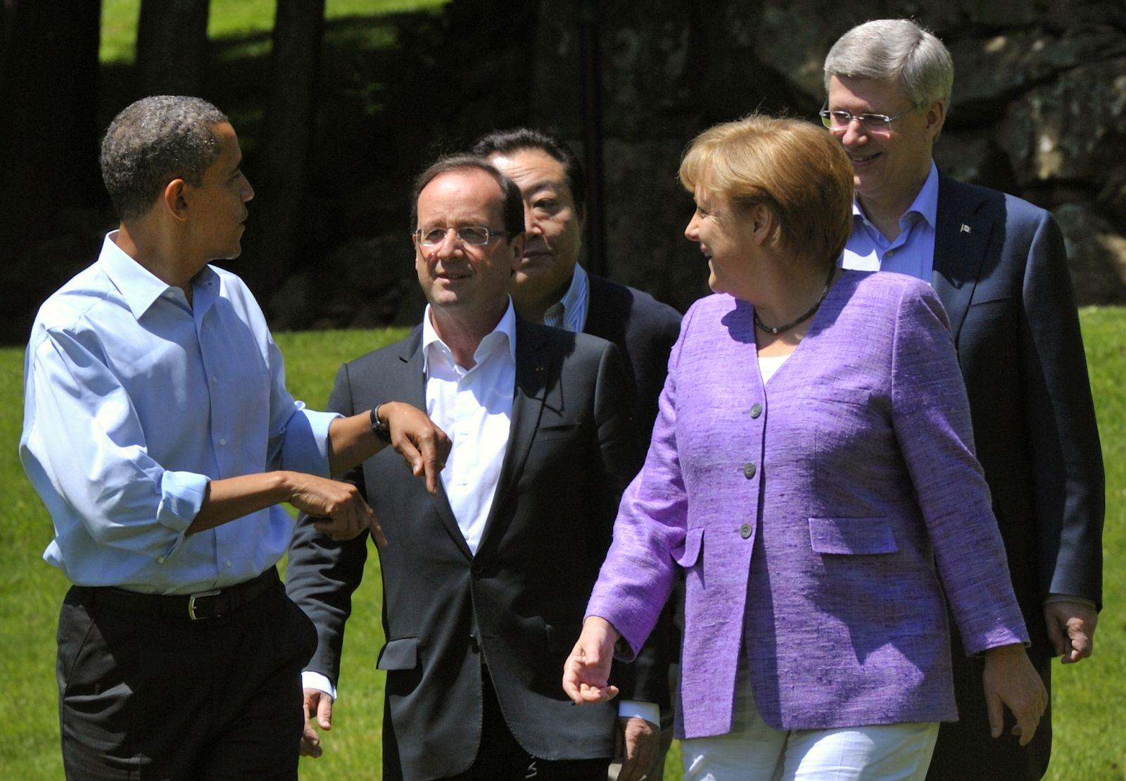 Obama/Merkel/Hollande/G8