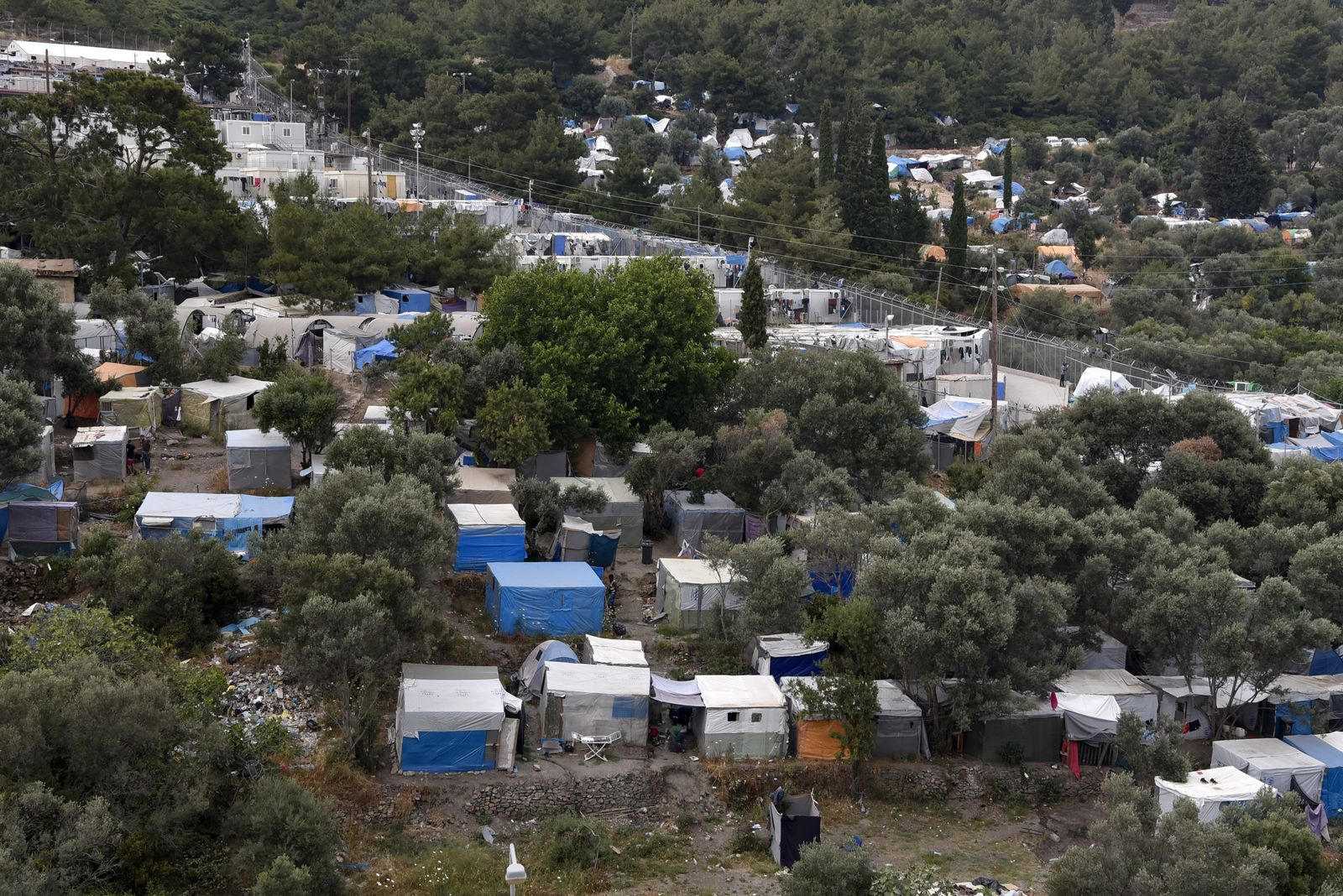 Samos Flüchtlinge