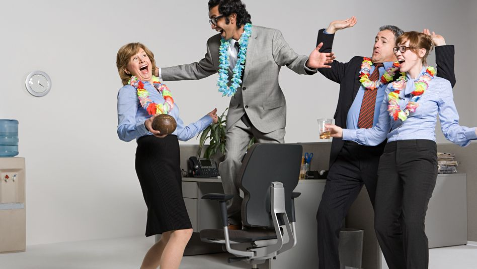 """Typisch Büro: Und alle so """"Yeah!"""""""