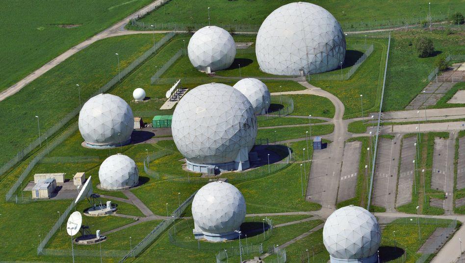 """Radarkuppeln an der Abhörstation Bad Aibling: """"Ich habe es gelöscht"""""""