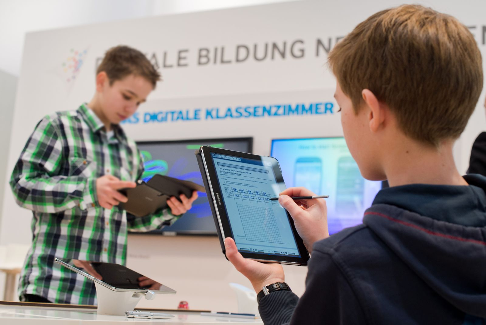 Schüler / Computer / Laptop