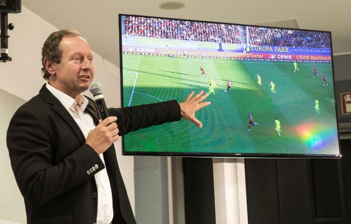 Ex-Schiedsrichter Hellmut Krug
