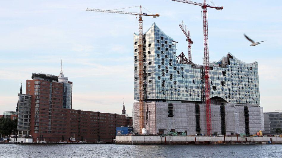 Alles hat ein Ende, nur die Elbphilharmonie nicht: Die Baustelle im Dezember 2011