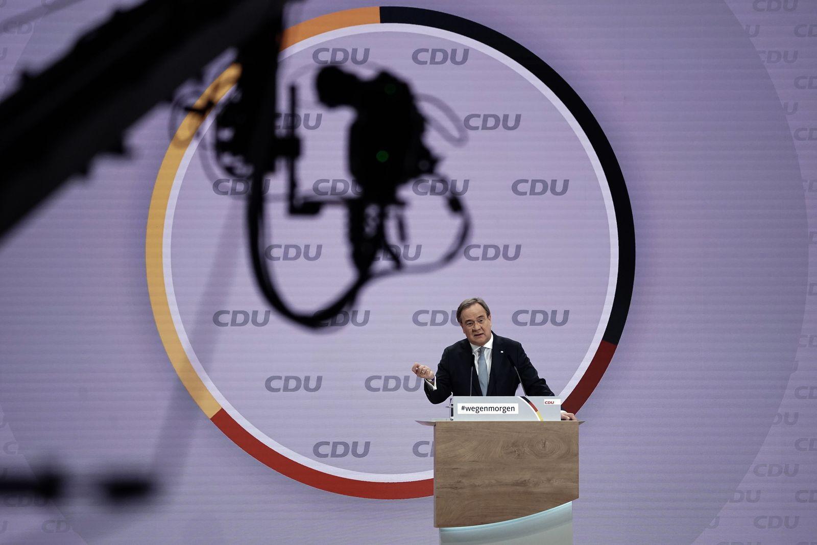 Digitaler CDU Bundesparteitag
