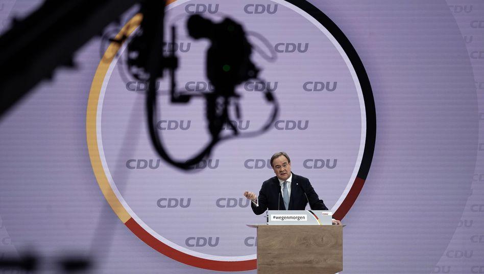 Neuer CDU-Chef Laschet