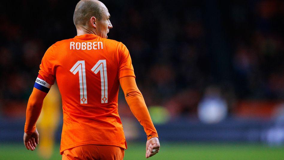Oranje-Star Robben: Wieder dabei nach seiner Verletzung