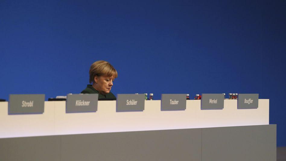 Angela Merkel auf dem CDU-Parteitag in Essen