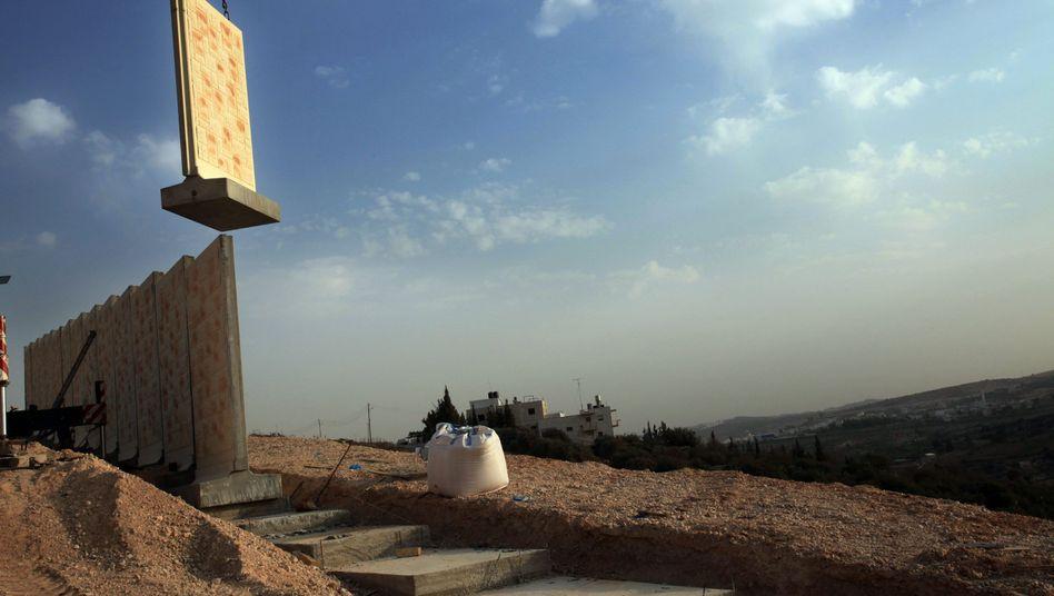 """Bauarbeiten im Westjordanland: """"Es geht darum, dass wir im Gespräch bleiben"""""""