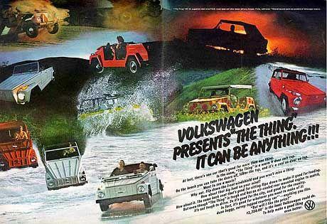 """In Amerika hieß der VW Typ 181 nur """"The thing"""""""