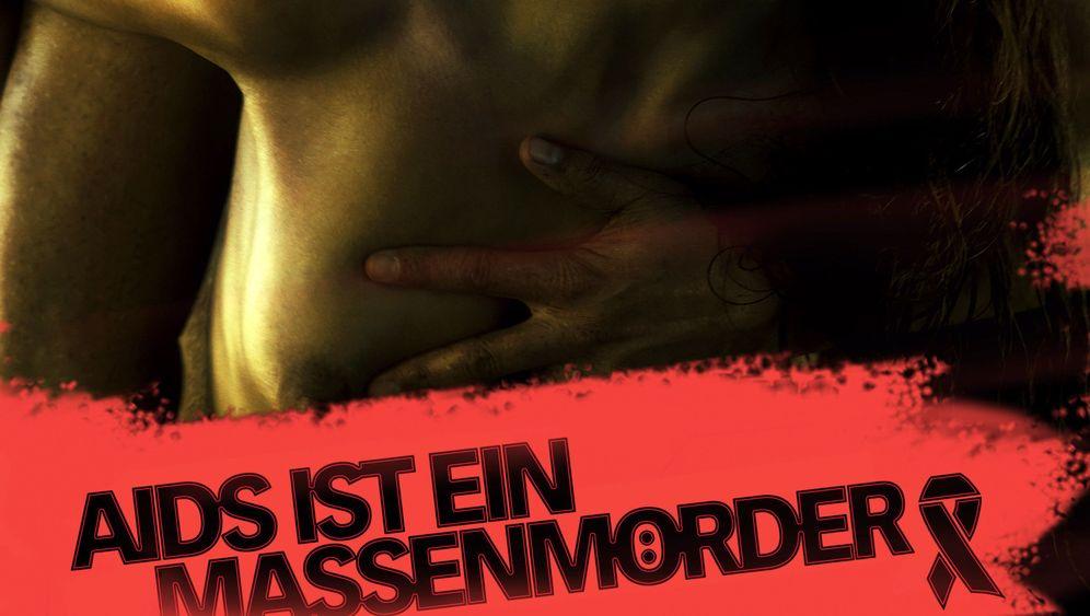 """Präventionskampagne: """"Aids ist ein Massenmörder"""""""