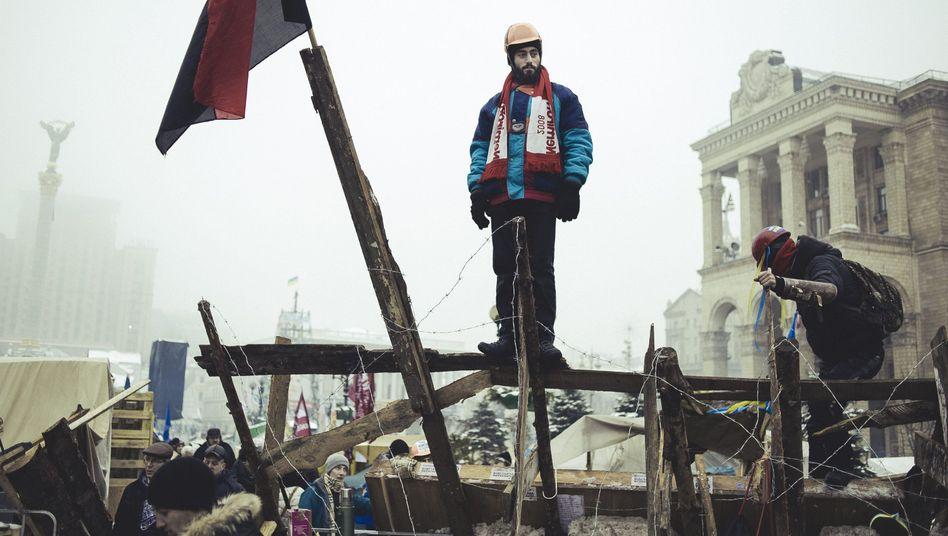 Nigojan am 12. Dezember auf dem Maidan: Das erste Todesopfer der Proteste