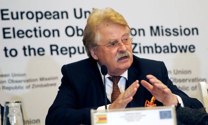 Leiter der EU-Beobachtermission, Elmar Brok (CDU)