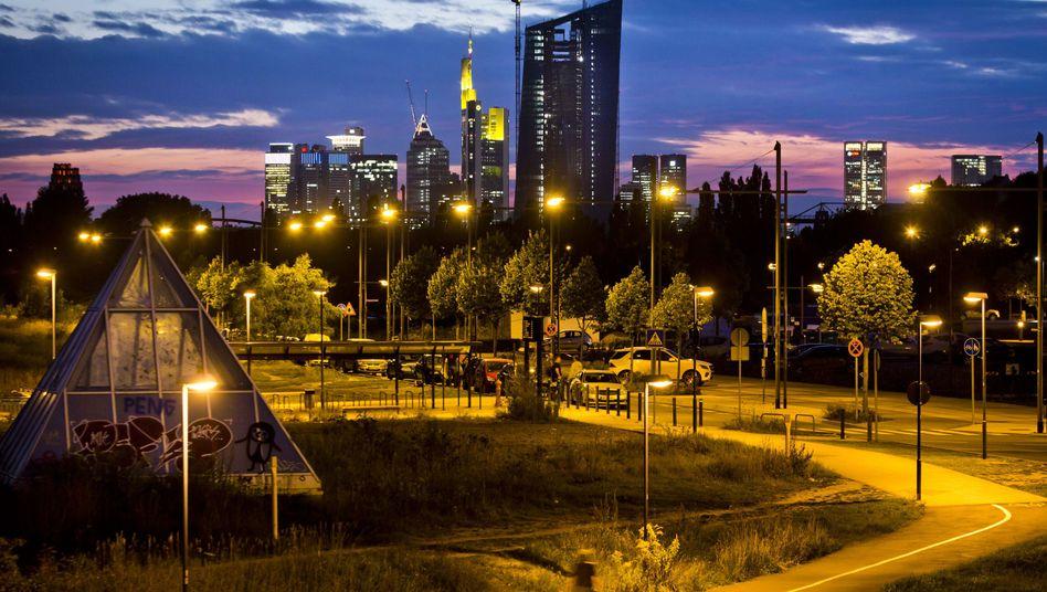 Bankenviertel in Frankfurt: Die Sache hat einen gewaltigen Haken