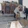 Jan Fedder bekommt Erinnerungstafel am Michel