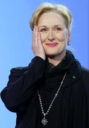 Mit einem Ehren-César geehrt: Meryl Streep