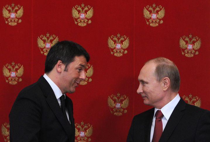Renzi und Putin: Treffen am 5. März