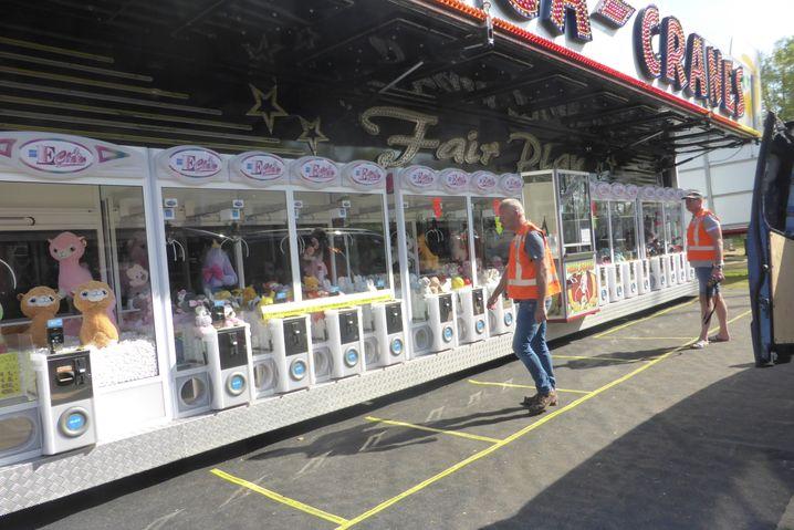 Greifarm-Automaten: Hier ist der Abstand am leichtesten einzuhalten