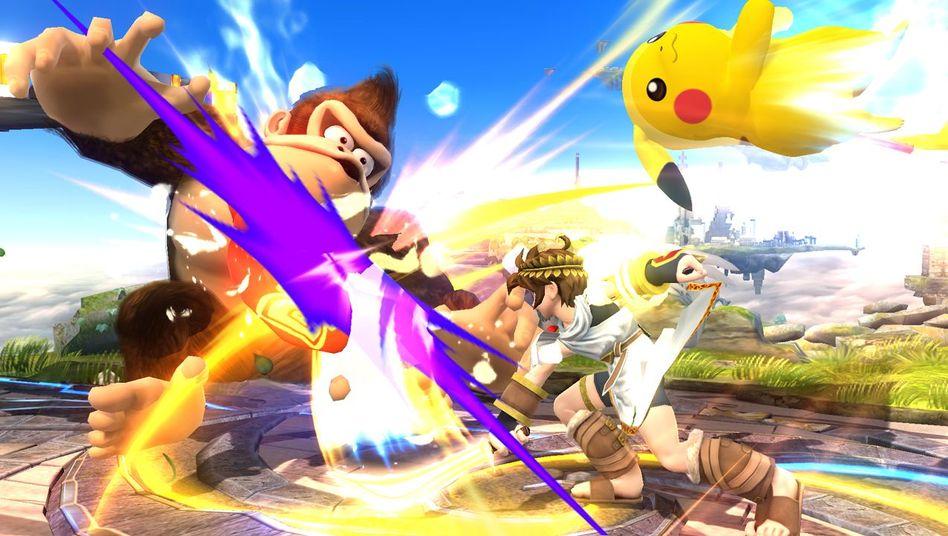 """Pressebild zu """"Super Smash Bros."""": Erstes Wii-U-Spiel, das die Sammelfiguren unterstützt"""