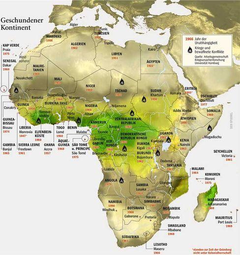 Geschundener Kontinent: Die Entkolonialisierung Afrikas