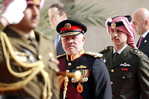 Jordaniens König Abdullah II. im November 2019