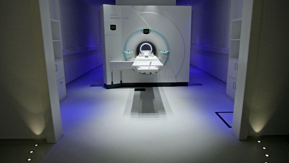 Magnet-Resonanz-Tomograph: Klingt nicht nur nach Techno, auch der Raum hat Ähnlichkeit mit einem Club