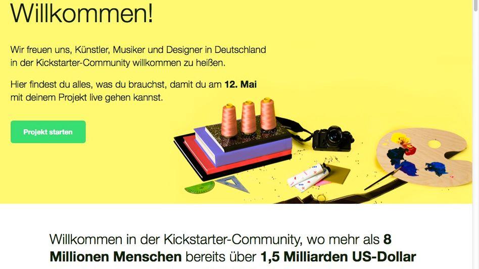 Deutsche Kickstarter-Seite: Los geht es am 12. Mai