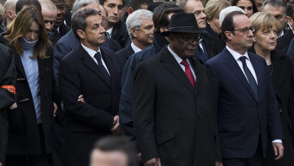 Trauermarsch: Lassen Sie mich vor, ich war Präsident