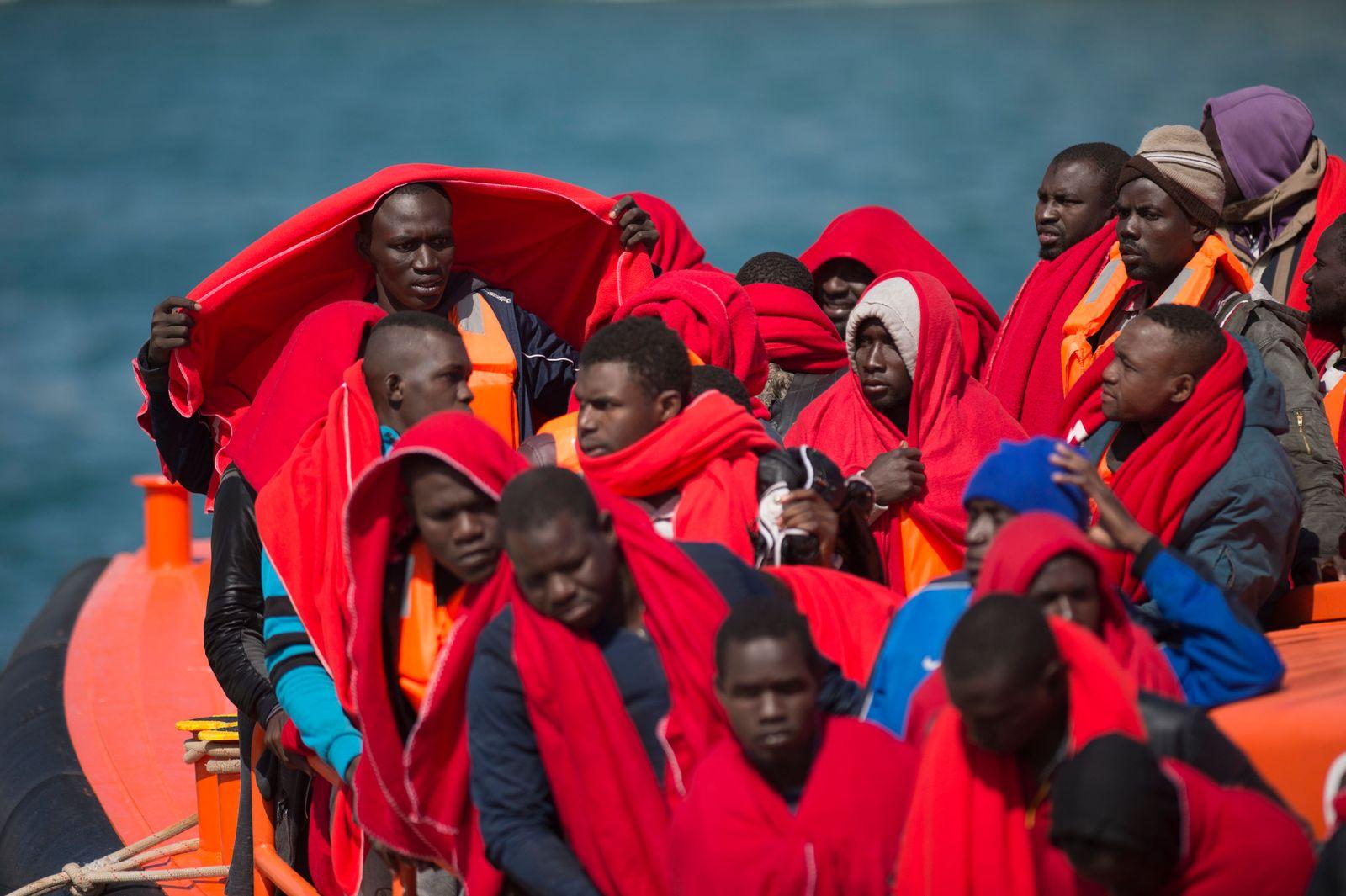 Flüchtlinge Migranten Rettung Mittelmeer