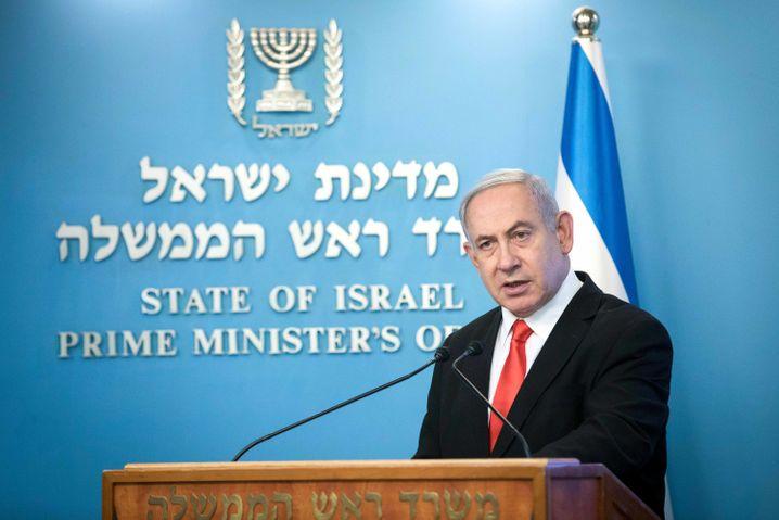 """Israels Premierminister Benjamin Netanyahu: """"Bleiben Sie zu Hause und bleiben Sie am Leben"""""""