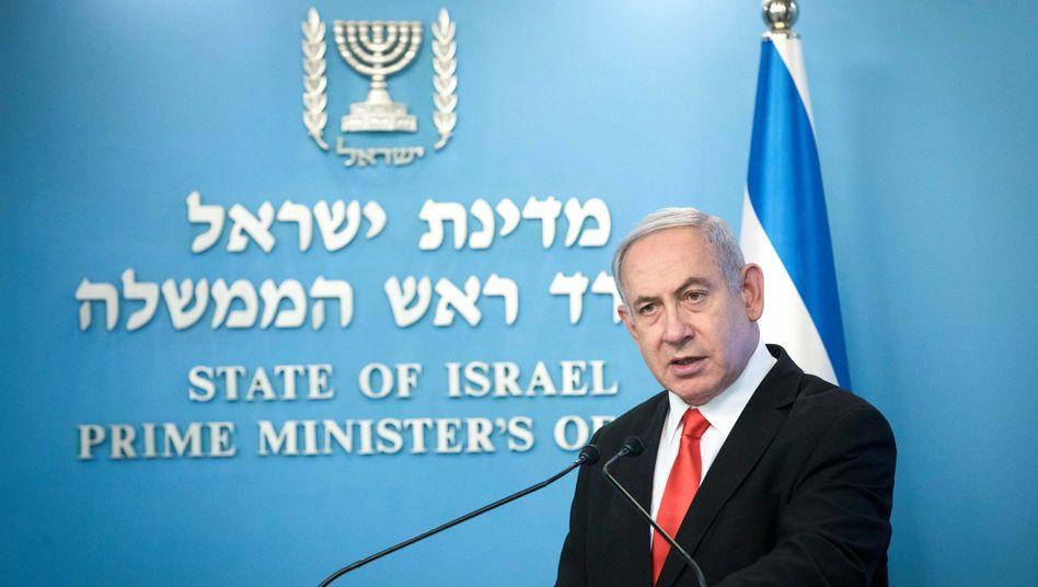 Israels geschäftsführender Ministerpräsident Benjamin Netanyahu: Drei Neuwahlen, keine Mehrheit