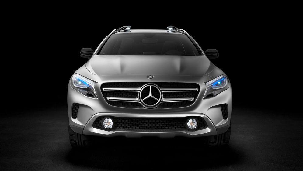Mercedes-Studie Vision GLA: Der nächste, bitte!