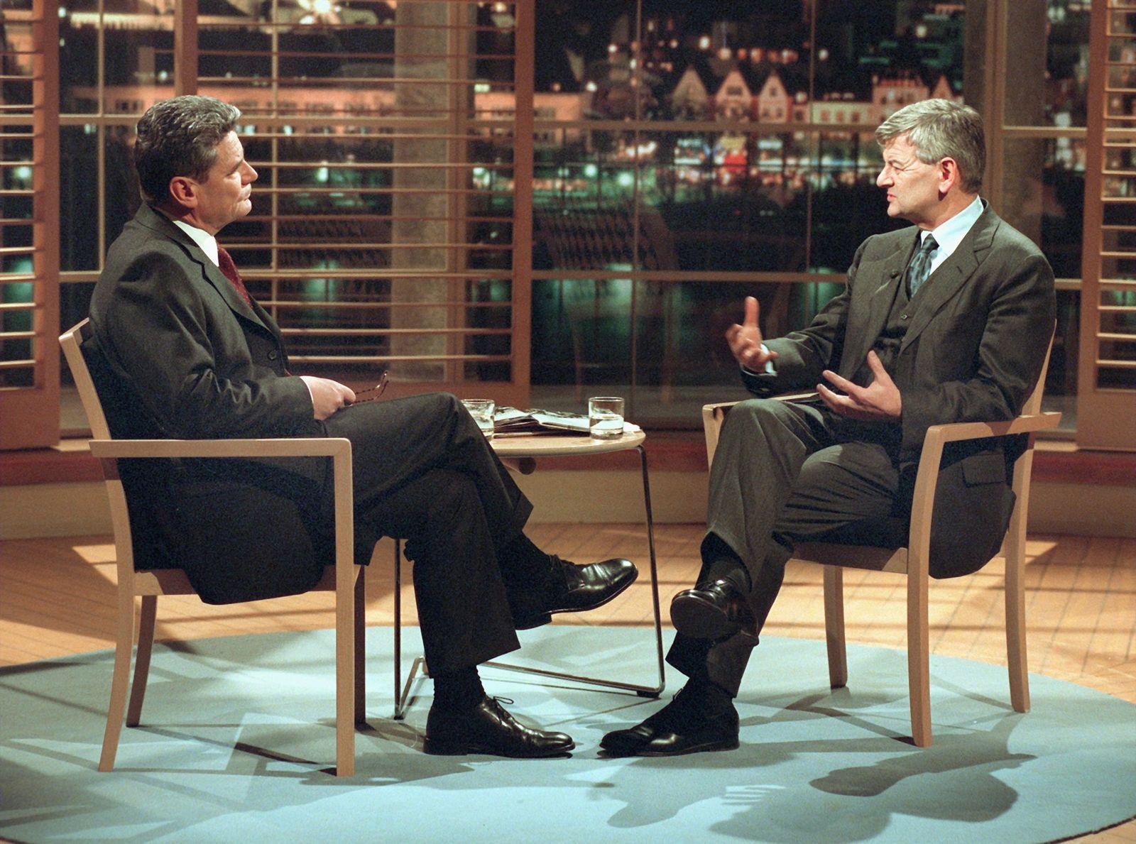 Gauck / Biografie / Talkshow