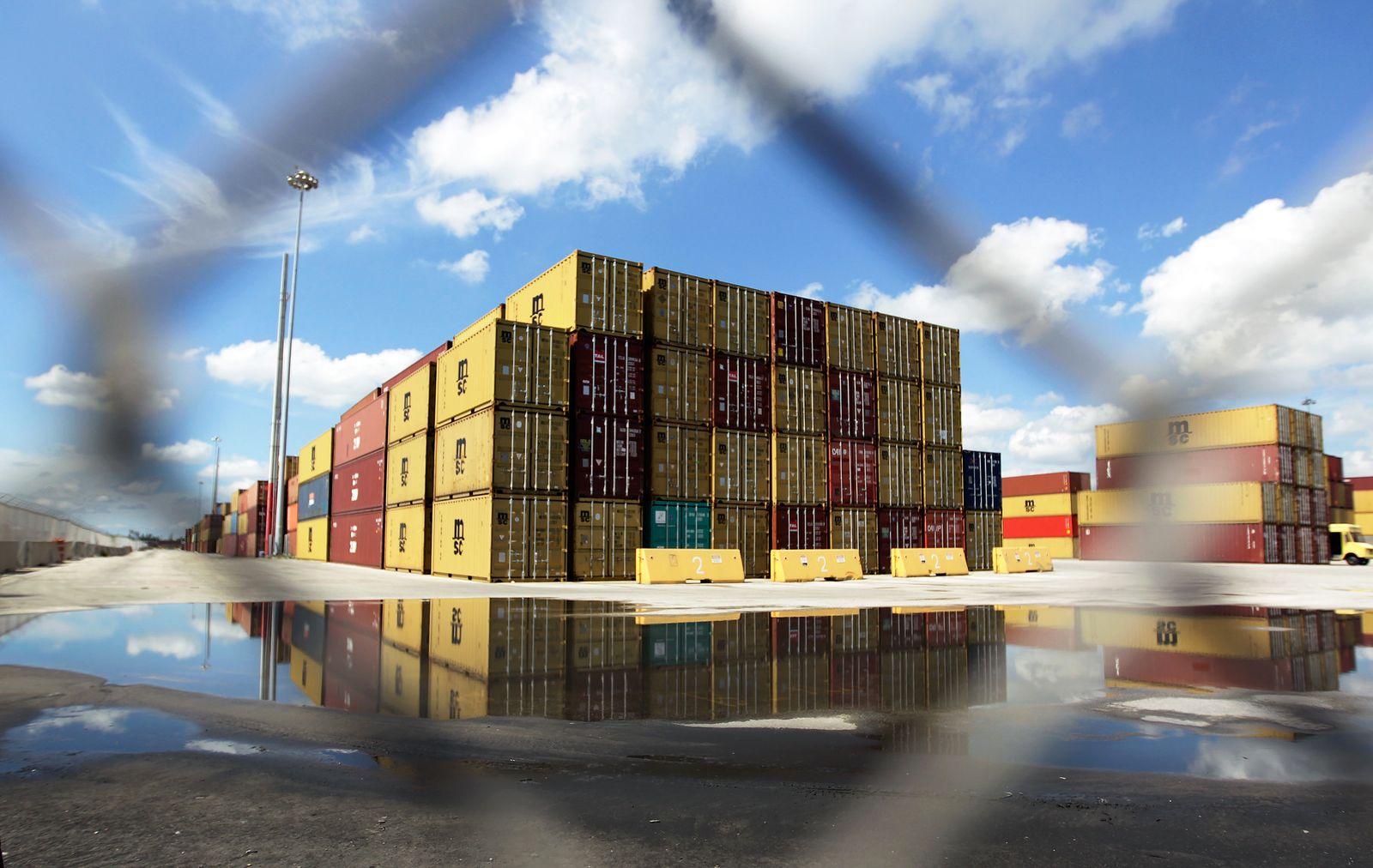 Container / Freihandelsabkommen