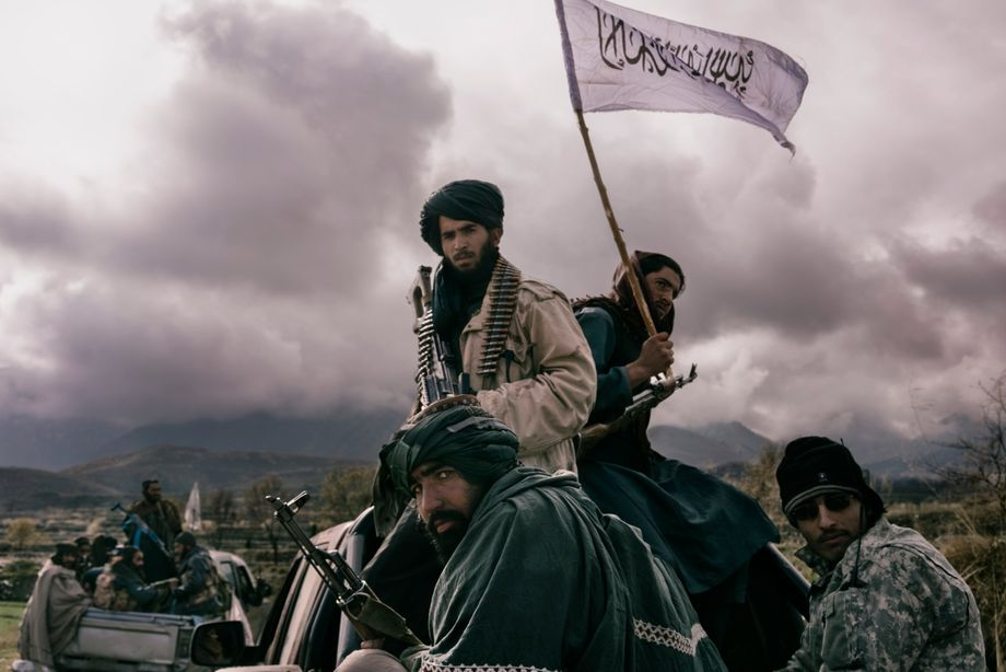 Taliban fighter in the Nangarhar province