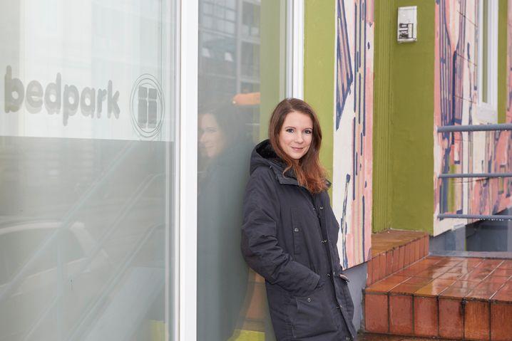 Hotelmanagerin Myléne Delattre: »Wir können nicht jedem helfen. Aber wir wollen jedem die Chance geben«